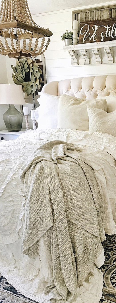 Liz Marie | Country Bedroom Design