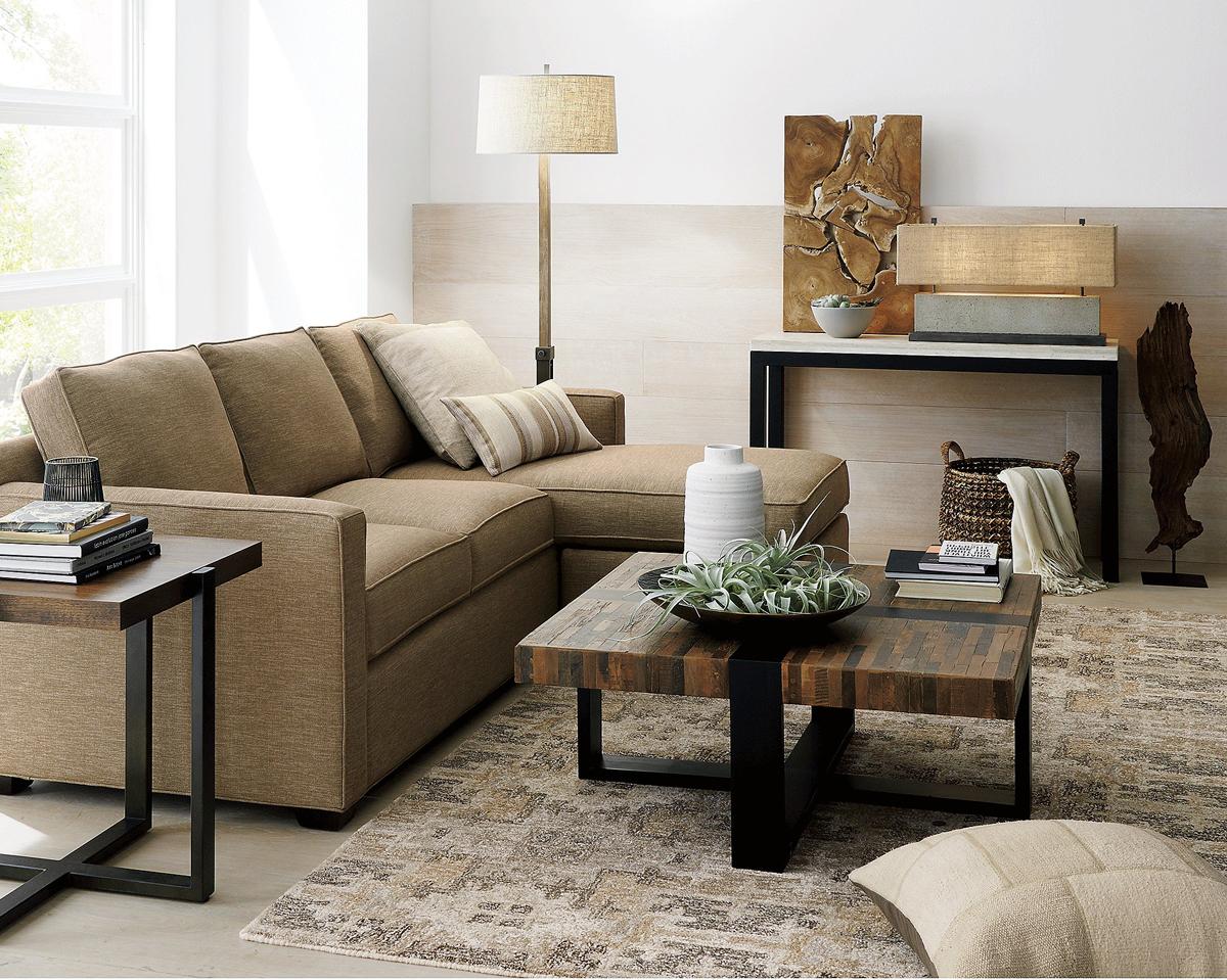 Organic Textural Living Room