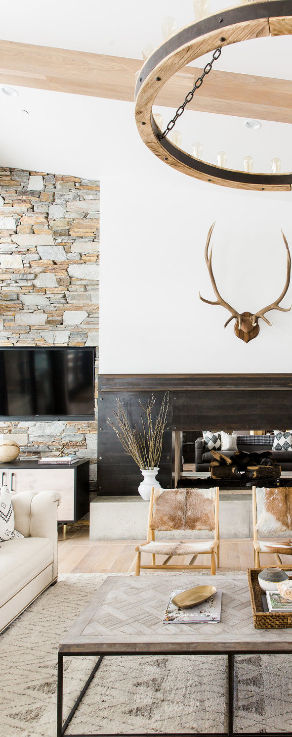 Modern Mountain Home Tour | Rustic Modern Decorating