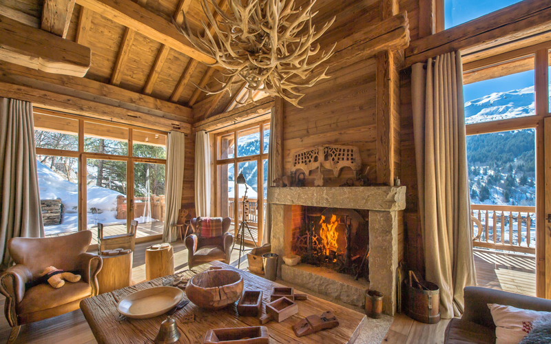 rustic interior design styles - Cabin Interior Design Photos