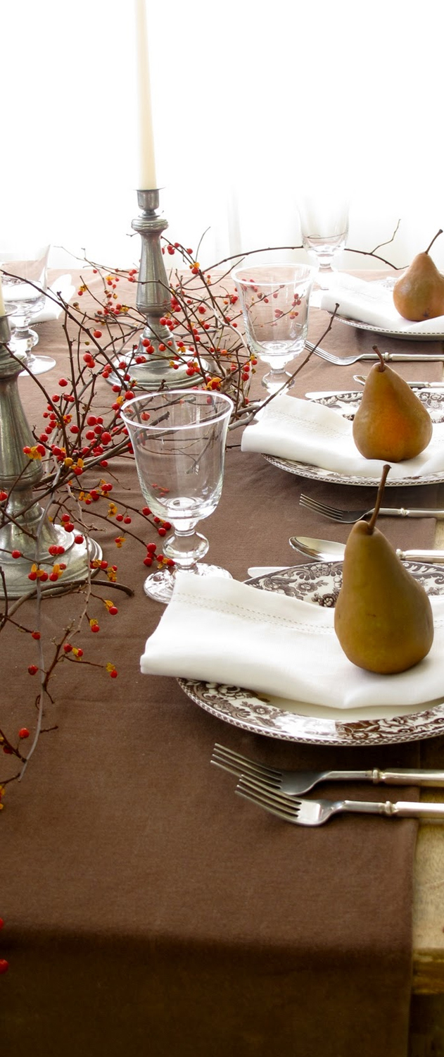 Rustic Thanksgiving Tablescape Ideas | Fall Centerpieces