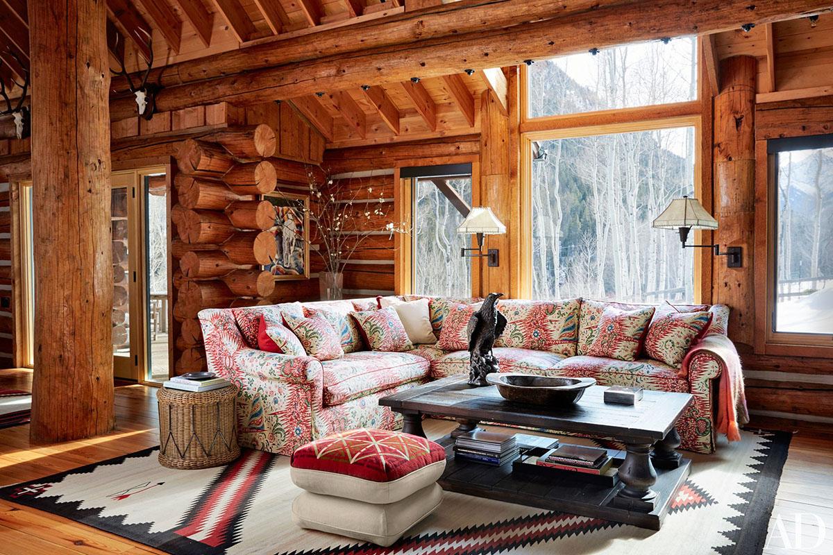Log Home Colorado. Interior Design ...