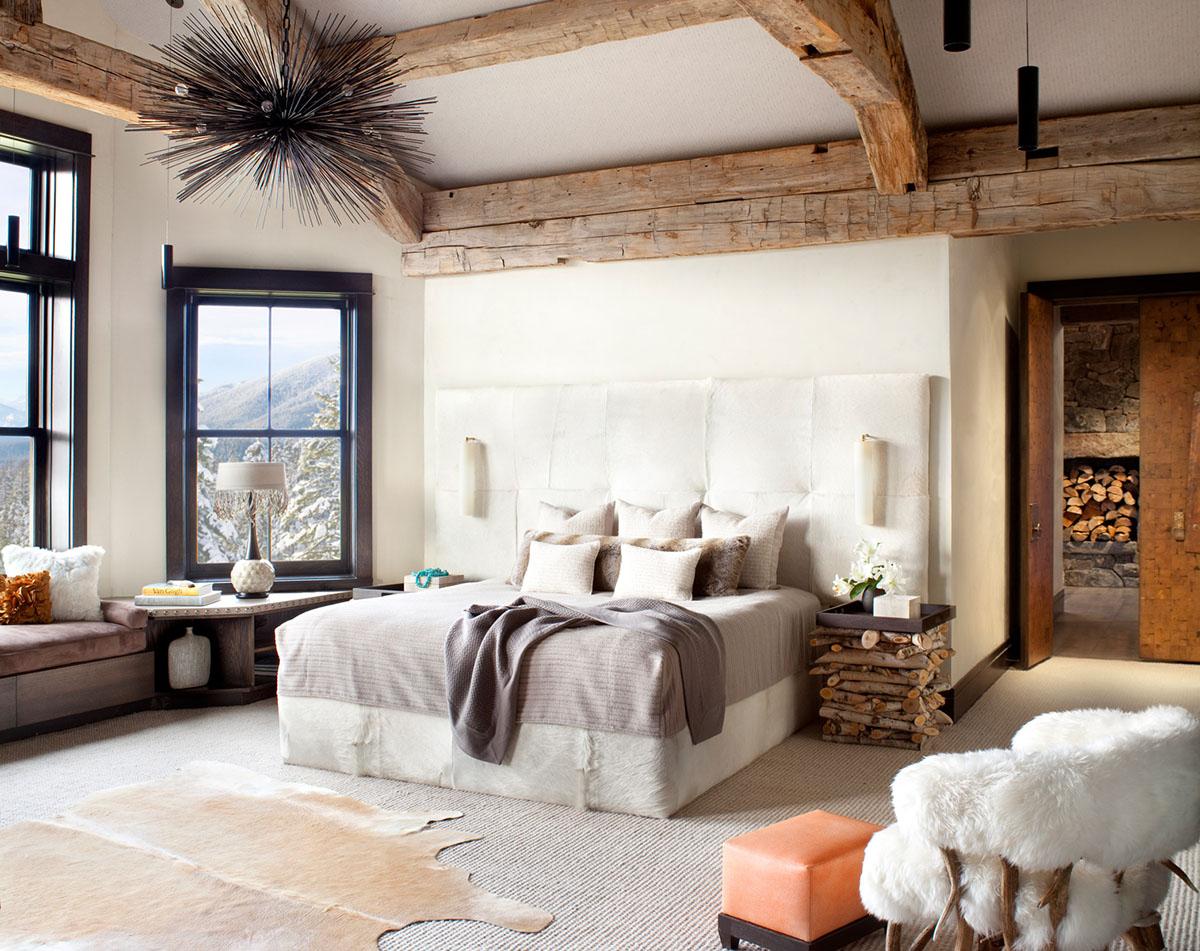 modern rustic interior design. Modern Rustic Bedroom Interior Design