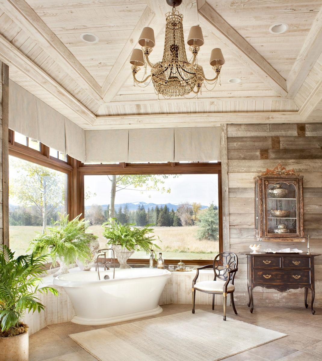 Rustic Style Interior Design   Rustic Design Ideas & Photos