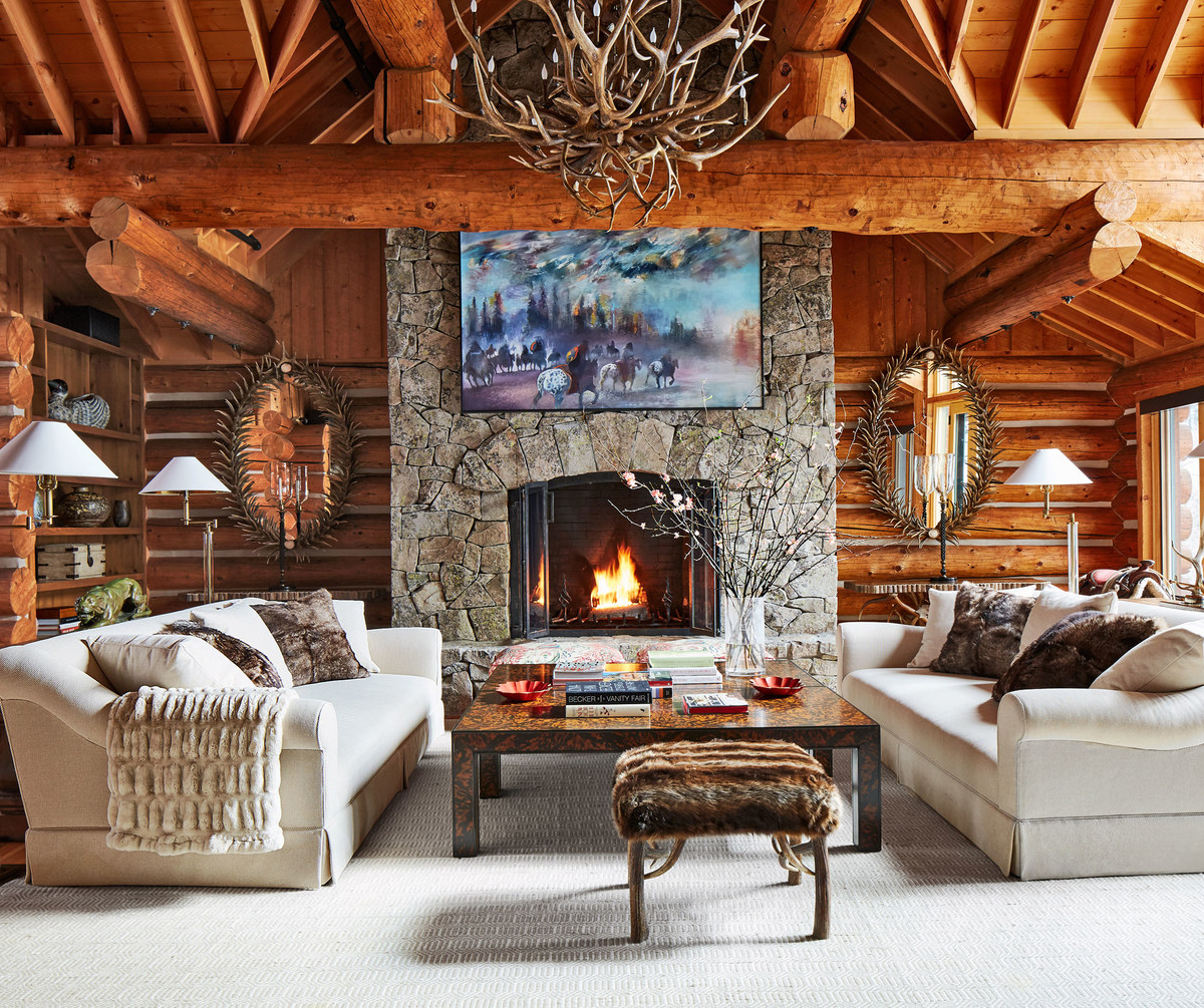 Rustic Interior Design Ideas Living Room: Interior Design Rustic Look